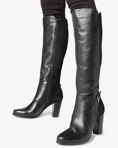 🛑NWOT - Knee High Buckle Strap Boots